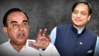 Subramanian Swamy calls Shashi Tharoor a liar, seeks probe against him in Sunanda Pushkar case