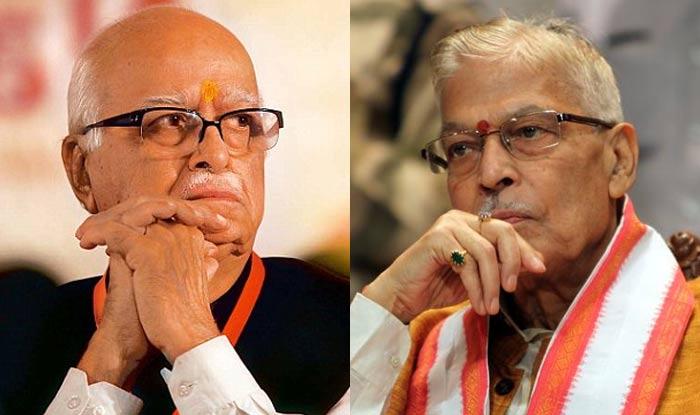 Amit Shah Meets BJP Veterans LK Advani, Murli Manohar Joshi After Release of Manifesto