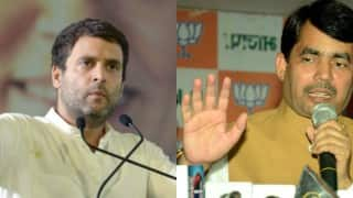 BJP leader Shahnawaz Hussain reverts back on Rahul Gandhi's comments, advices him to keep his mouth shut