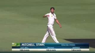 Mitchell Starc fastest ball video is here!