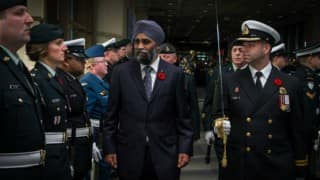 Decorated Sikh soldier Harjit Sajjan takes command of Canada's military