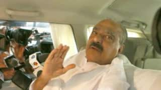 K M Mani leaves for home town
