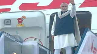 PM Narendra Modi leaves for maiden visit to the UK; hopes to strengthen economic ties