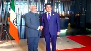 PM Narendra Modi poses with upside down tricolour in Malaysia; faces flak on social media
