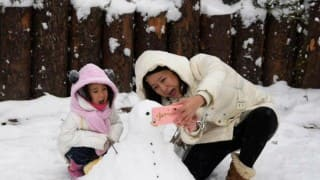 Snowstorms hit China; flights, bullet trains affected