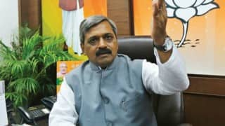 AAP accuses Satish Upadhyay of holding function at 'illegal' hall