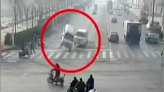 Mystery behind cars defying gravity in China revealed (Watch Video)