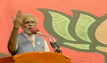 BJP suffers jolt in Narendra Modi