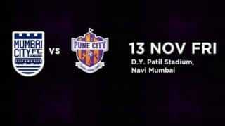 ISL 2015 Free Live Streaming of Mumbai City FC vs FC Pune City: Watch Free Telecast on TV, Mobile and Online