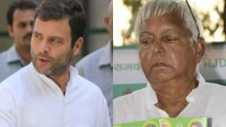 Election Commission show cause notices to Rahul Gandhi, Lalu Prasad Yadav