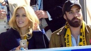 Kylie Minogue is very happy with new her boyfriend Joshua Sasse