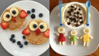 Quick and easy breakfast recipes for your naughty little ones at home (Watch Video)