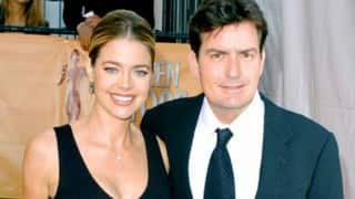 Charlie Sheen's ex-wife Denise Richards knew The Three Musketeers star was HIV positive