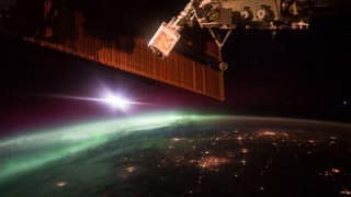 International Space Station suffers short circuit, power system degraded