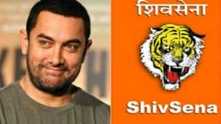 Aamir Khan speaking language of treachery: Shiv Sena