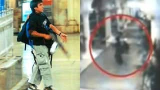 Mumbai 26/11 Attack: Rare CCTV video of Ajmal Kasab and other terrorists surface