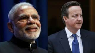 David Cameron offers to lend support to Narendra Modi's goal of preparing young Indians for 21st century