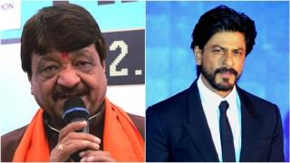 शाहरुख़ को चले जाना चाहिए पाकिस्तान :कैलाश विजयवर्गीय