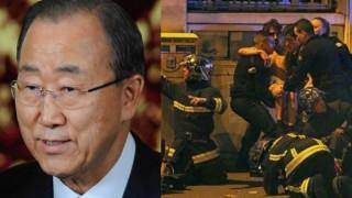 Paris Attacks: UN Secretary-General Ban Ki-moon slams terrorist attacks in Paris