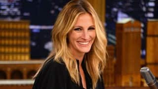 Julia Roberts was stunned when she met nine women who share her name