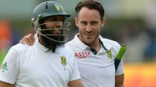 South Africa show resistance after loss of early wickets