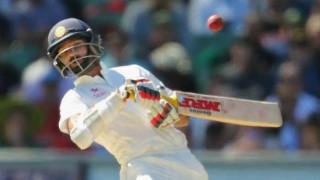 नागपुर टेस्ट : भारत ने 5 विकेट गंवाए, 244 रनों की बढ़त