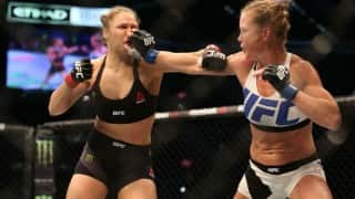 Ronda Rousey knocked out by Holly Holm in her first UFC loss