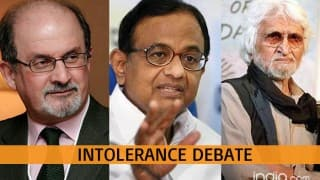 Debate on Intolerance: Why it took 27 years to identify a mistake asks Rushdie