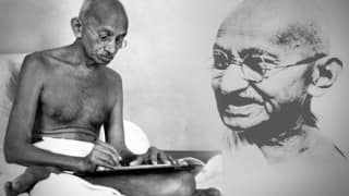 'India remains united,democratic due to Mahatma Gandhi's non-violence'