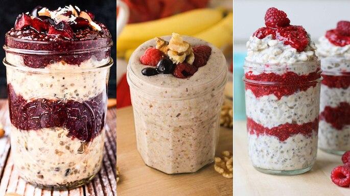 6 Easy To Make Mason Jar Breakfast Ideas