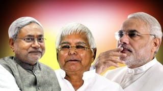 JD(U) alliance ahead on 119 seats, BJP on 76: Election Commission says grand alliance winning, TV channels predict victory for NDA