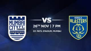 ISL 2015 Free Live Streaming of Mumbai City FC vs Kerala Blasters: Watch Free Telecast on TV, Mobile and Online