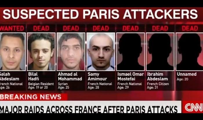 Paris attacks: Suspect photos and details revealed! Hunt ...