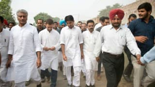 Rahul Gandhi starts his 'Kisaan Padyatra' in UP, move to mobilise Congress members before Assembly elections
