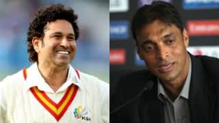 Shoaib Akhtar wants to play for Sachin Tendulkar's team in Cricket All Stars