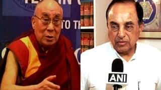 Dalai Lama says Hindus voted for harmony by defeating BJP in Bihar elections; called ignorant by Subramaniam Swamy