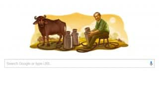 Verghese Kurien's 94th Birthday celebrated with Google Doodle