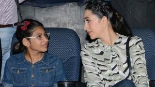 करिश्मा की बेटी की 'बी हैप्पी' बाल फिल्मोत्सव में दिखाई गई