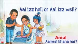 After fake viral ad, Amul releases original version taking dig at Aamir Khan and raging 'intolerance' debate