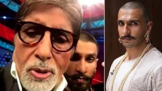 Bajirao Mastani: Amitabh Bachchan mouthing Ranveer Singh's dialogue is truly epic!