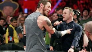 OMG! Wayne Rooney loses cool at WWE Raw show, slaps wrestler Wade Barrett