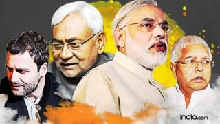 Bihar Assembly Election Results 2015 Live Updates: Grand Alliance bags 180 seats, BJP led NDA 59
