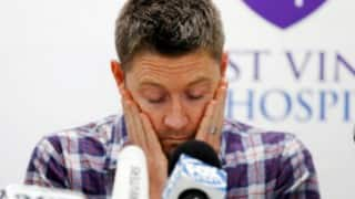 Michael Clarke still thinks about little brother Phillip Hughes