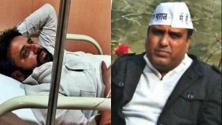 आम आदमी पार्टी के नरेला विधायक को शराबियों ने जमकर पीटा