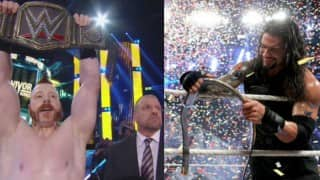 WWE: Roman Reigns wins the WWE World Heavyweight Championship at Survivor Series then looses to Sheamus