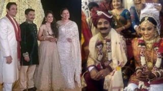 Exclusive pictures: Taarak Mehta Ka Ooltah Chashmah's actress Dayaben aka Disha Vakani's grand reception!