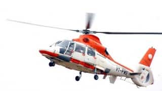 Helicopter service to Gulmarg, Pahalgam from Srinagar launched