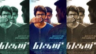 Theri poster: Vijay all set to impress his fans in triple avatar
