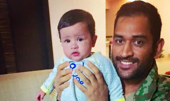 Astonishing Ms Dhoni Daughter Ziva Will Make You Say A In New Picture Hairstyles For Men Maxibearus