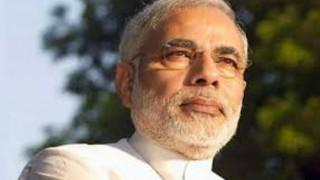 Narendra Modi arrives in Singapore